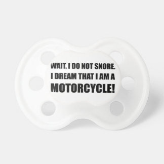 Chupeta Motocicleta do ressono