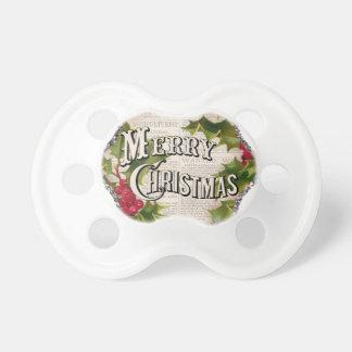 Chupeta Natal do casado