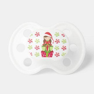 Chupeta Natal do esmagamento dos doces