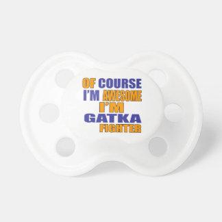 Chupeta Naturalmente eu sou lutador de Gatka