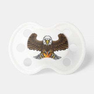 Chupeta O basquetebol de Eagle ostenta a mascote
