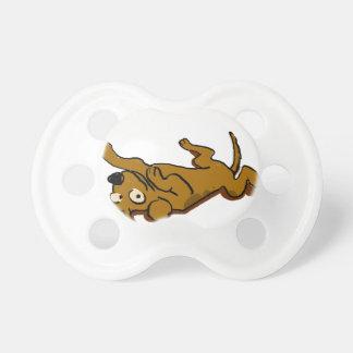 Chupeta O cão feliz dos desenhos animados está