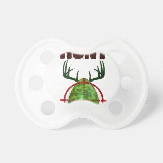 Chupeta o design engraçado da páscoa, nascer para caçar