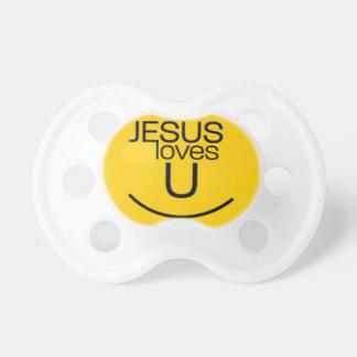 Chupeta O sorriso… Jesus ama-o