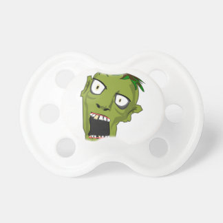 Chupeta O zombi o Dia das Bruxas inoperante assustador