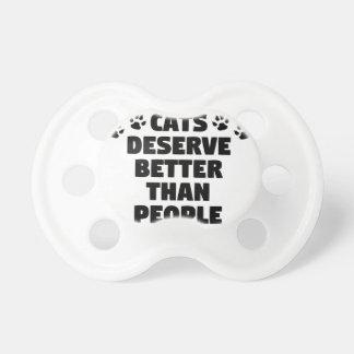 Chupeta Os gatos merecem melhor