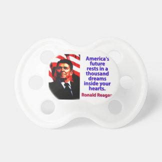 Chupeta Os restos futuros de América - Ronald Reagan
