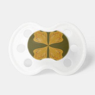 Chupeta Ouro das mandalas na azeitona