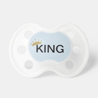 Chupeta pacifer do rei do bebé