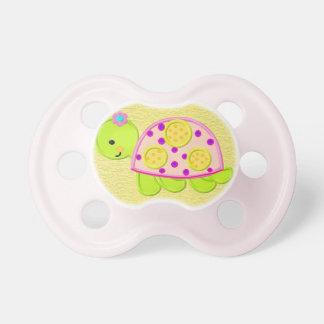 Chupeta Pacifier bonito da tartaruga do bebé
