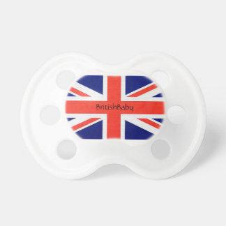 Chupeta Pacifier britânico do bebê