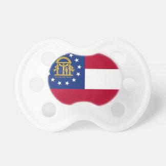 Chupeta Pacifier com a bandeira de Geórgia, EUA