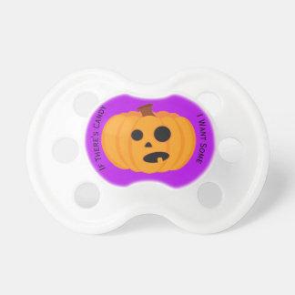 Chupeta Pacifier da abóbora
