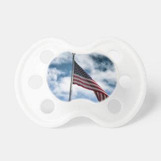 Chupeta Pacifier da bandeira americana