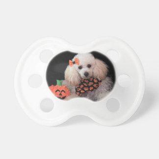 Chupeta Pacifier da criança do cão de caniche do Dia das