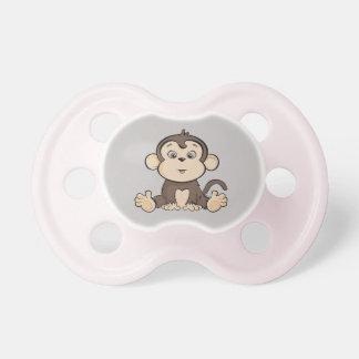 Chupeta Pacifier da criança do estilo do macaco