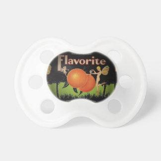 Chupeta Pacifier da etiqueta da embalagem da fruta do