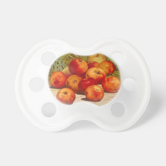 Chupeta Pacifier da etiqueta da fruta do vintage
