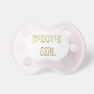Chupeta Pacifier da menina de Daddys