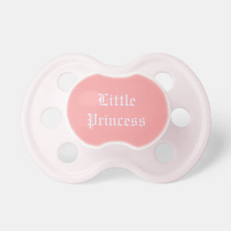 "Chupeta ""Pacifier da princesa pequena"" bebê"