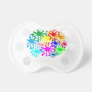 Chupeta Pacifier de BooginHead da arte do gotejamento
