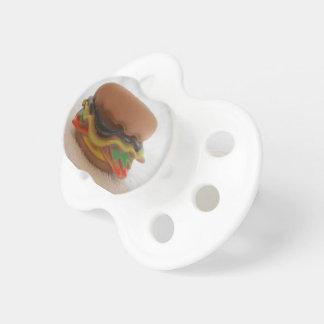 Chupeta Pacifier de BooginHead® do hamburguer -0-6 meses