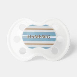 Chupeta Pacifier de HAMbyWG - de BooginHead® - o azul do