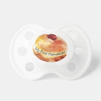 Chupeta Pacifier de Hanukkah da rosquinha