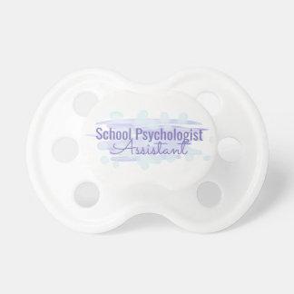 Chupeta Pacifier do assistente do psicólogo da escola