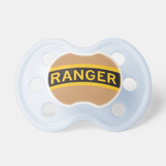 CHUPETA PACIFIER DO BEBÊ DA GUARDA FLORESTAL DO EXÉRCITO