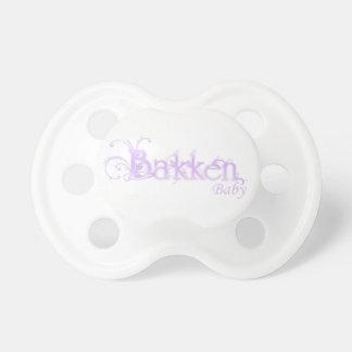 Chupeta Pacifier do bebê de Bakken (roxo)
