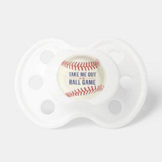 Chupeta Pacifier do bebê do basebol