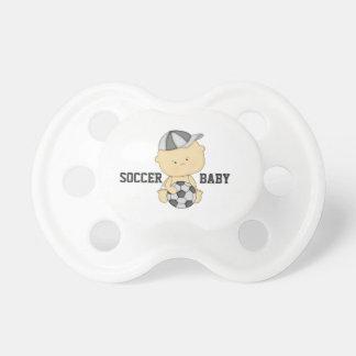 Chupeta Pacifier do bebê do futebol
