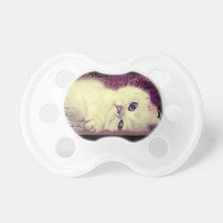 Chupeta Pacifier do bebê do gato