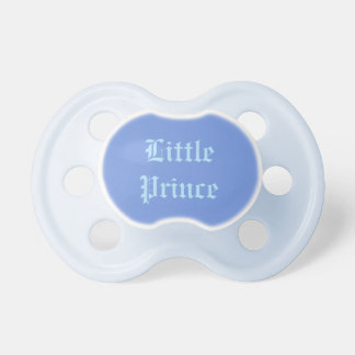 "Chupeta ""Pacifier do bebê do príncipe pequeno"""