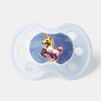 Chupeta Pacifier do bebê do unicórnio (Shimmer da galáxia)