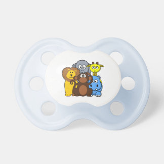Chupeta Pacifier do bebé dos animais da selva