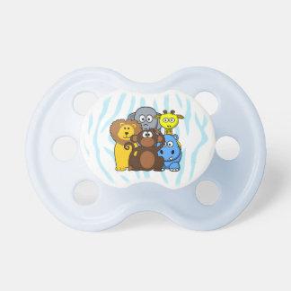 Chupeta Pacifier do bebé dos animais da selva ou do jardim