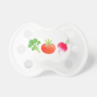Chupeta Pacifier do bebê dos vegetarianos brócolos, do