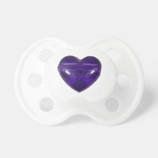 Chupeta Pacifier do bebê/manequim - fevereiro Amethyst