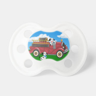 Chupeta Pacifier do carro de bombeiros