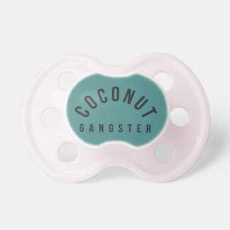 CHUPETA PACIFIER DO GÂNGSTER DO COCO