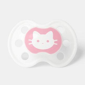 Chupeta Pacifier do rosa do gato do gatinho