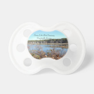 Chupeta Pacifier do santuário de pássaro do lago sams