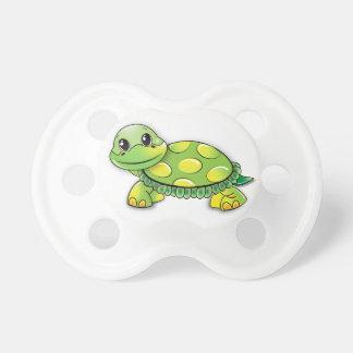 Chupeta Pacifier doce da tartaruga