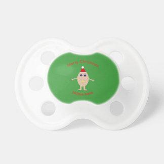 Chupeta Pacifier engraçado do ovo do Natal