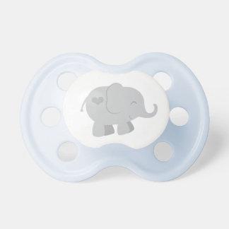 Chupeta Pacifier feito sob encomenda cinzento do bebê do