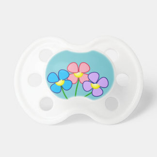 Chupeta Pacifier floral de Victoria Westcoast para o bebé