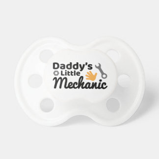 Chupeta Pacifier pequeno de BooginHead® do mecânico do pai