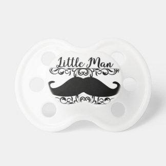 Chupeta Pacifier pequeno do bigode do homem